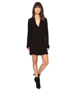 Michael Stars | Modern Rayon Cross Front Dress/Jacket Dress