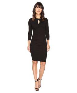 Michael Stars | Shine Twisted Keyhole Dress Womens Dress