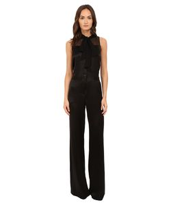 Prabal Gurung | Tie Neck Jumpsuit Womens Jumpsuit Rompers