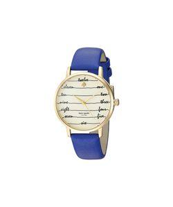 Kate Spade New York   Chalkboard Metro Ksw1238 Watches