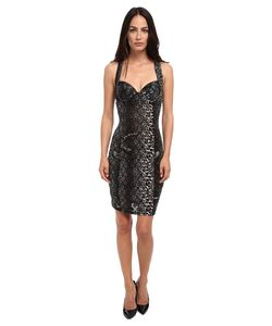 Jean Paul Gaultier   Colored Panther Polka Dot Tulle Bustier Dress