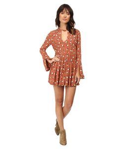 Free People | Tegan Mini Dress Combo Womens Dress