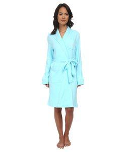Lauren Ralph Lauren | Essentials Quilted Collar And Cuff Robe Garden