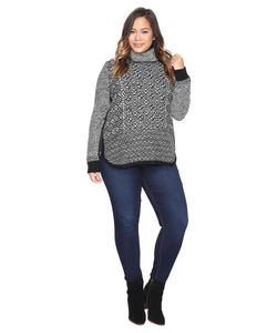 Lucky Brand | Plus Size Side Zip Turtleneck Clothing