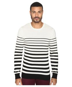AG Adriano Goldschmied | Tanner Crew Neck Sweater Trench Stripe City