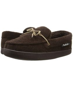 Woolrich | Lewisburg Chocolate Fleece Slippers