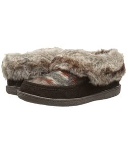 Woolrich | Autumn Ridge Java/Blanket Wool Slippers