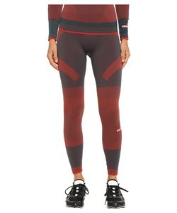 Adidas by Stella McCartney | Essentials Seamless Tights Ax7346 Cherry Wine/Solid