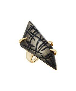 Alexis Bittar   Futurist Ring Rutilated Ash Ring