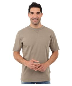Woolrich   First Forks Solid Tee Shale Mens T Shirt