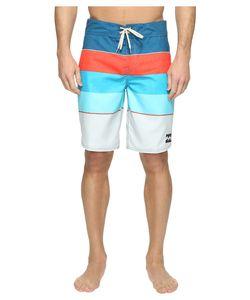 Billabong | 73 Originals Stripe Boardshorts Foam Swimwear