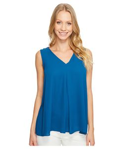 Vince Camuto | Sleeveless V-Neck Drape Front Blouse Port