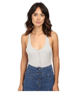 Free People | Hooked On You Bodysuit Womens Jumpsuit
