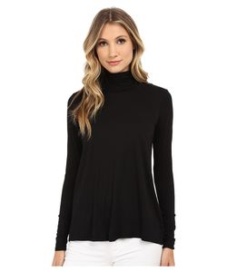 Three Dots | L/S Relaxed High Low Turtleneck Long