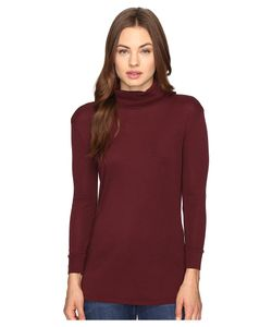 AG Adriano Goldschmied | Noah Turtleneck Wine Clothing