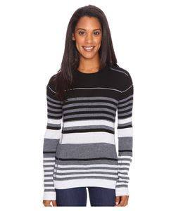 Obermeyer | Fiona Stripe Knit Crew Sweater