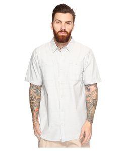 Vans   Guilder Iv Short Sleeve Woven Quarry Clothing