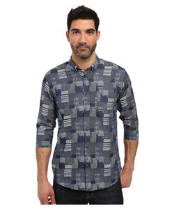 Publish | Stanton 3/4 Sleeve Full Button Up