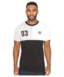 Adidas Originals | Bold Panel Graphic Tee Medium Heather