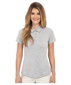 adidas Golf   Essentials Heather Short Sleeve Polo Medium Heather