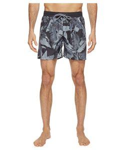 Diesel | Sandy Leaf Camo Print 6 Inch Swim Boxer Lanu