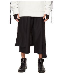 D.Gnak | Asymmetric Skirt Layered Pants Mens Casual Pants