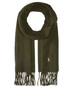 Polo Ralph Lauren | Signature Wool Scarf Dark Loden Scarves