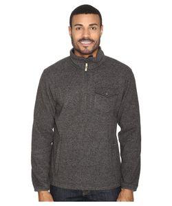 Mountain Khakis | Old Faithful Qtr Zip Sweater Charcoal Sweater
