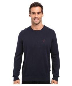 Nautica | Solid Crew Neck Sweater Sweater
