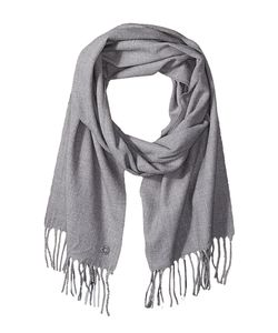 Calvin Klein | Solid Woven Scarf Heathered Mid Scarves