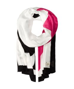 Kate Spade New York | Suit Of Cards Oblong Scarf Cream