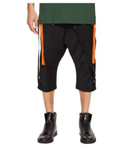 D.Gnak | Side Tapes Cropped Pants Mens Casual Pants