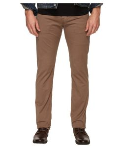 AG Adriano Goldschmied | Matchbox Slim Straight Twill Pants In Baked