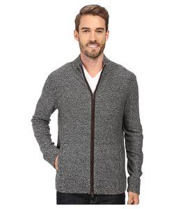 Robert Graham | Gianluca Full Zip Sweater Heather Sweater