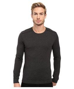 John Varvatos Star USA | John Varvatos Star U.S.A. Long Sleeve Crew Neck Sweater W/
