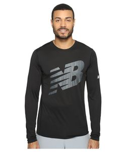 New Balance | Accelerate Long Sleeve Graphic Top Mens Clothing