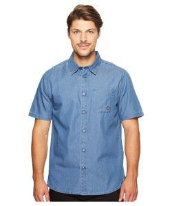 Primitive | Juice Short Sleeve Indigo Denim Mens Clothing