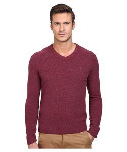 Original Penguin | P55 100 Lambswool V-Neck Sweater Amaranth Sweater