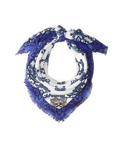 Vince Camuto | Crochet Day Bandana Marine Scarves