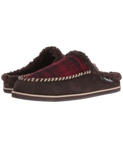 Woolrich | Austin Potter Slide Hunting Plaid Wool/Java Slippers
