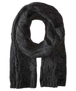 Michael Michael Kors | Cable Muffler Charcoal Scarves