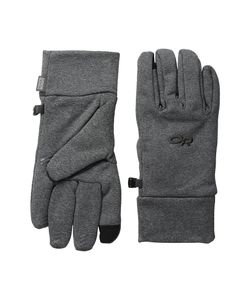Outdoor Research | Pl 400 Sensor Gloves Charcoal Heather Extreme Cold