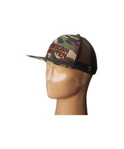 American Fighter   Knowledge Hat Camo Caps