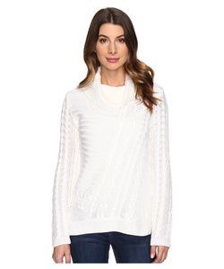 Calvin Klein | Mixed Stitch Cowl Neck Soft Womens Sweater
