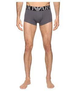 Emporio Armani | Big Logo Band Trunk Anthracite Underwear