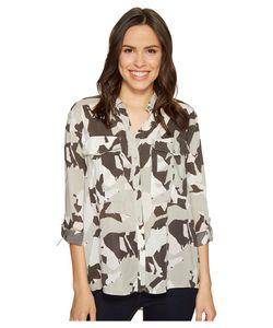 Calvin Klein Jeans | Camo Printed Utility Shirt Sage Clothing