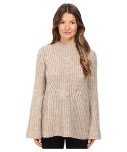 Theory | Bestella Sweater Oatmeal Womens Sweater
