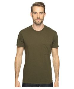 7 For All Mankind | Short Sleeve Raw Pocket Crew