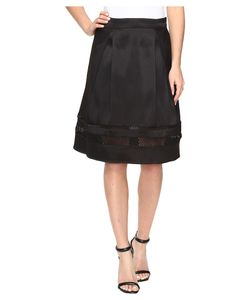 Ivanka Trump | Fit And Flare Skirt With Lazer Cut Out