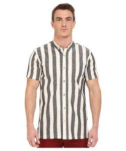 Publish | Kenzie Vertical Stripe Cotton Button Down Shirt